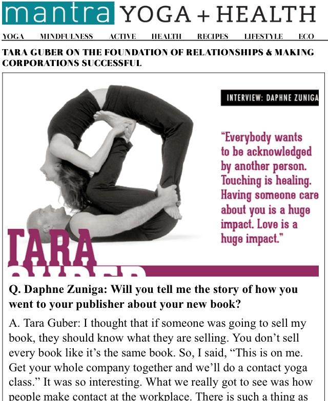 Actress and Contact Yogi, Daphne Zuniga interview Tara Guber in ...