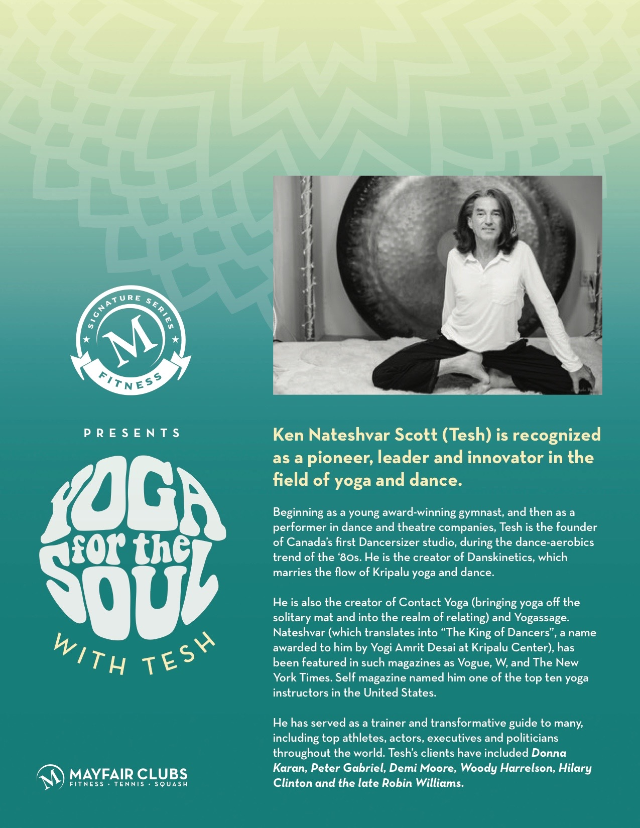 Yoga For The Soul With Tesh